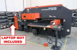 """22 TON AMADA VIPROS 255 CNC TURRET PUNCH; S/N AVP55145 **Loading Fee Due the """"ERRA"""" Chicago"""
