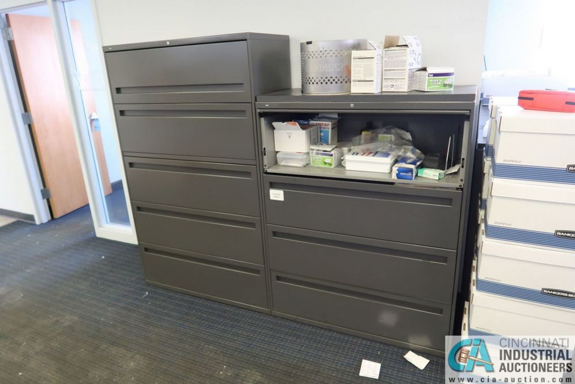 3 AND 4-DRAWER FILE LATERAL FILE CABINETS - Image 3 of 3