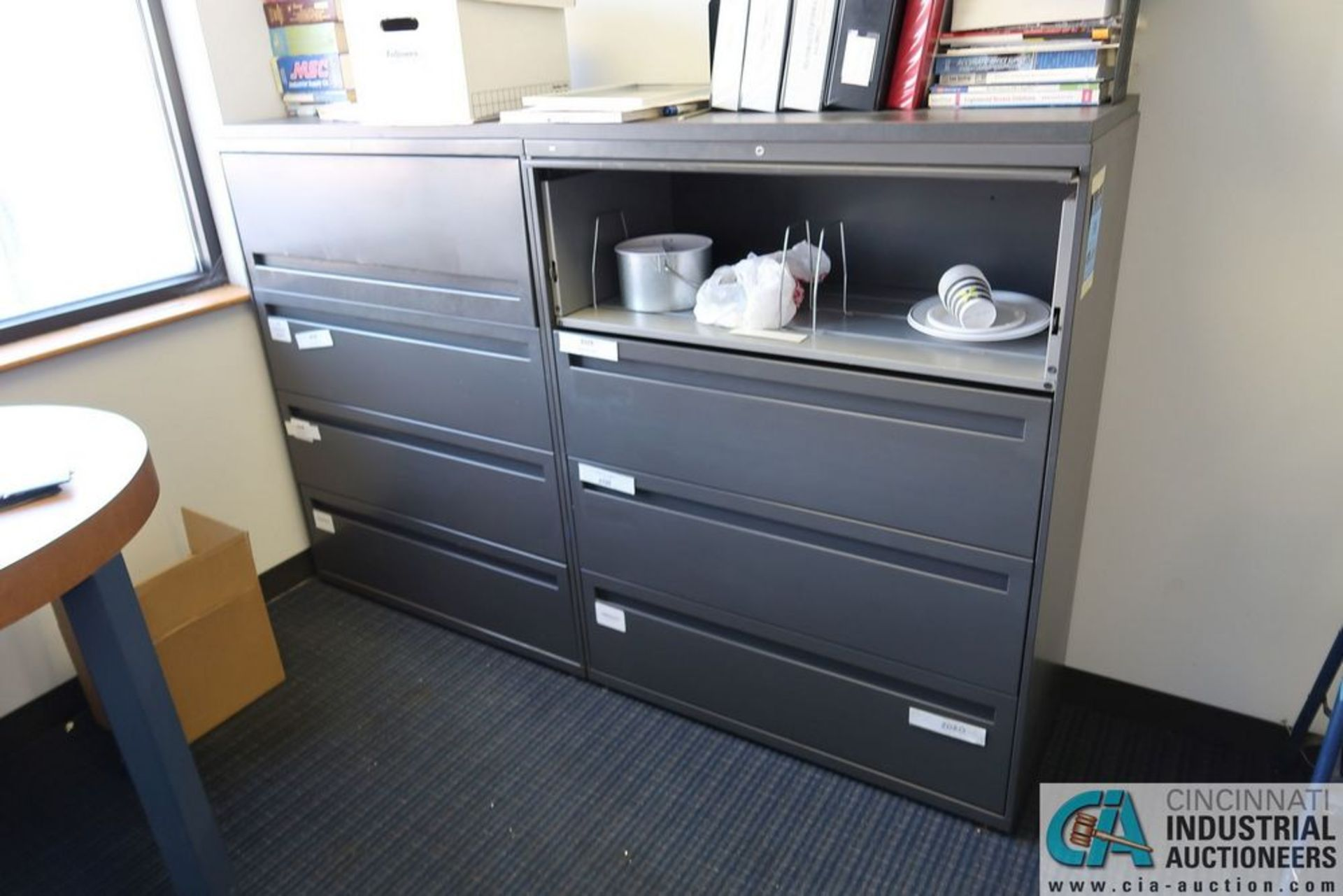 3 AND 4-DRAWER FILE LATERAL FILE CABINETS