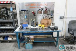 """72"""" X 36"""" STEEL BENCH WITH PUNCH TOOLING"""