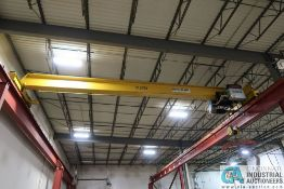 **12.5 TON X 32' (APPROX.) SPAN STEWART ENGINEERING TOP RUNNING OVER HEAD **Loading Fee Due the