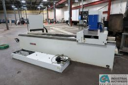 """8"""" x 84"""" MVM MODEL FX20 AUTOMATIC KNIFE AND SURFACE GRINDER; **Loading Fee Due the """"ERRA"""" Chicago"""
