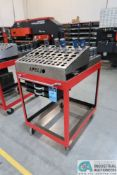 STEEL CART WITH PUNCH TOOLING