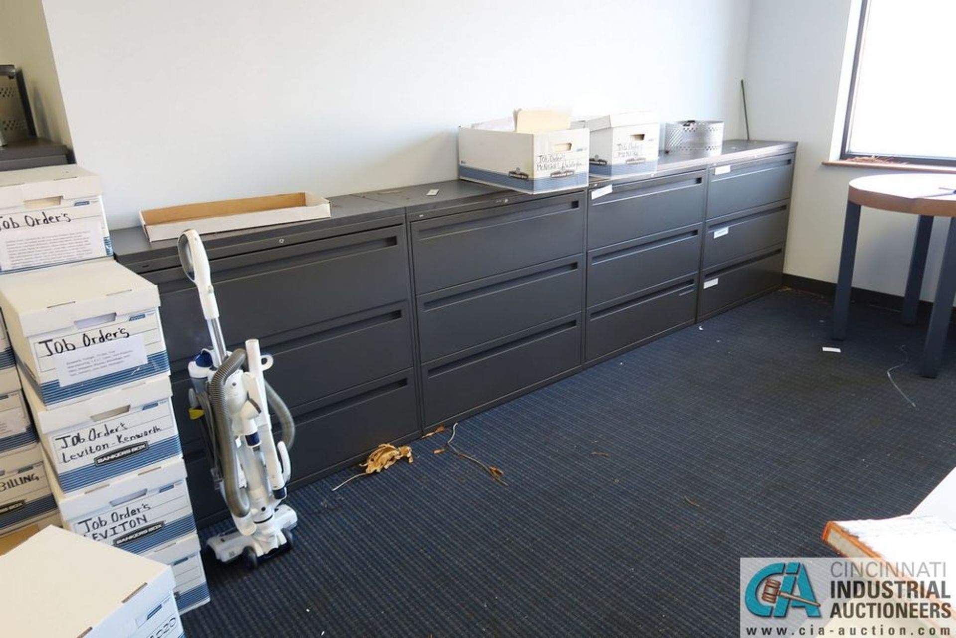 3 AND 4-DRAWER FILE LATERAL FILE CABINETS - Image 2 of 3