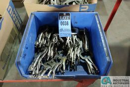 """TOTAL 6"""" VISE GRIP MODELS 6R AND 6SP WELDING C-CLAMPS"""
