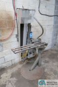 "4"" WIDE X 40"" LONG BELT G&P MACHINERY MODEL B-490-5 VERTICAL BAND SANDER; S/N G12410, 5 HP MOTOR,"