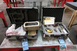 (LOT) BW MOTORIZED SAMPLING PUMP WITH DATA PAQ XL SYSTEM AND BYK MICRO-GLOSS TESTER