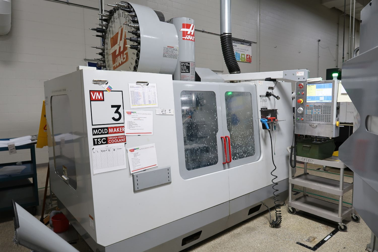 Surplus to the Ongoing Operations of X-Rite - Very Clean CNC Machinery
