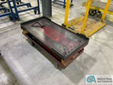 "2,200 LB. NORTHERN INDUSTRIAL SCISSOR LIFT TABLE; 24"" X 47"" TOP"