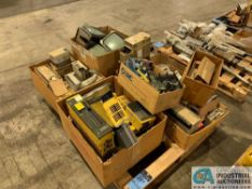 (SKID) MECTRON PARTS - FANUC DRIVES, MITSUBISHI CONTROLLERS AND MONITORS