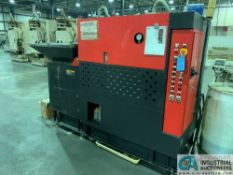 AMADA SCP-103H AUTOMATIC HYDRAULIC CHIP COMPACTOR; S/N 2030024, MODEL FX3G-60M CONTROL **Loading fee
