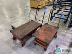 HYDRAULIC DIE LIFT CARTS