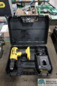 DEWALT CORDLESS DRILL WITH CHARGER AND CASE