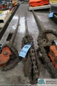 """ARMSTRONG NO. 15 CHAIN TYPE PIPE WRENCH - 54"""" HANDLE"""