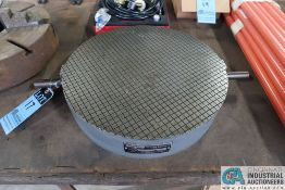 """18"""" DIAMETER CHALLENGE PART NO. LR-1804 LAPPING PLATE; S/N 12124-8"""