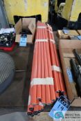 (LOT) CREFORM PIPE AND JOINT RACK (DISASSEMBLED)