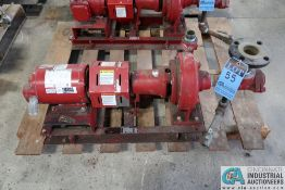 1 HP BELL AND GOSSETT SIZE 1510 BF 6.25-1.25AC WATER PUMP; S/N C124045-01C11, 1 HP US ELECTRICAL