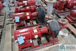 5.0 HP BELL AND GOSSETT SIZE 1510 BF 7.75 2BC WATER PUMP; S/N C119715-01M01, 5 HP WEG ELECTRIC