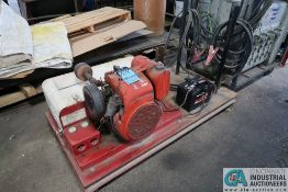 GOODALL MODEL 718 START ALL 18 HP (APPROX.) KOHLER TWIN CYLINDER GAS ENGINE DUAL BOOSTER CABLES