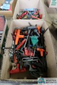(LOT) MISCELLANEOUS ALLEN WRENCHES