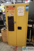 60 GALLON SECURALL FLAMMABLE SAFETY CABINET