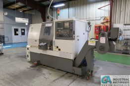 """SAMSUNG SL20/500 CNC TURNING CENTER; S/N 12H440853, 8"""" 3-JAW CHUCK, **Rigging Fee Due $500.00**"""