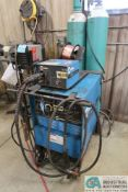 300 AMP MILLER SHOPMASTER 300 AC/DC ARC WELDING POWER SOURCE; S/N KA738963, WITH S-21E WIRE