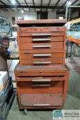 10-DRAWER KENNEDY PORTABLE TOOLBOX WITH TOOLS
