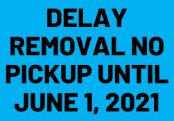 ****SOME LOTS HAVE BEEN MARKED AS A DELAYED REMOVAL - Please see lot descriptions