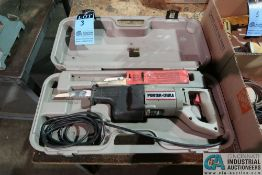 PORTER-CABLE MODEL 738 ELECTRIC VS TIGER SAW