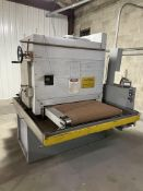 "36"" TIMESAVER SINGLE HEAD WIDE WET BELT SANDER, COOLANT TANK AND PUMP **Loading Charge Due the """