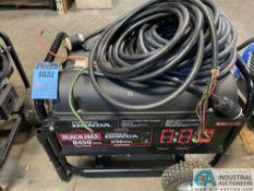 BLACKMAX 8450 MAX WATTS / 6,750 RUNNING WATTS, GASOLINE POWERED PORTABLE GENERATOR, HONDA GX350