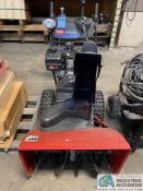 """TORO MODEL POWER MAX 826LE SNOW BLOWER, 26"""" WIDE AUGER OPENING, ELECTRIC START, TECUMSEB ENGINE"""