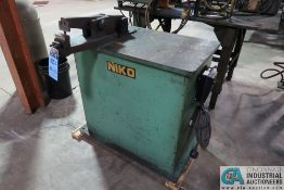 NIKO MODEL UNKNOWN WIRE TRIMMER MACHINE; S/N N/A, DART VARIABLE SPEED CONTROL UNIT, 3-PHASE AND