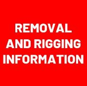 REMOVAL AND RIGGING INFORMATION