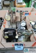 (LOT) MISC. INDICATOR STANDS W/ GAGES