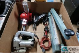 (LOT) MISC. ELECTRIC POWER TOOLS