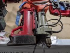MILWAUKEE MAGNETIC BASE DRILL - Out of service