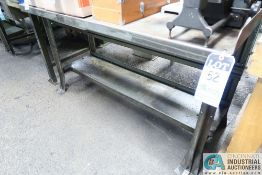 MISC. SIZE STEEL BENCHES **DELAYED REMOVAL 6/29/2021**