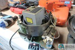 "8"" DIA. SERVICE ENGINEERING VIBRATORY FEEDER BOWL"