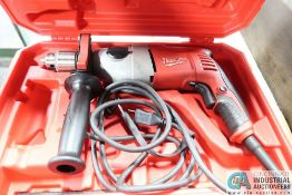 """1/2"""" MILWAUKEE CAT. NO. 5378-20 ELECTRIC HAMMER DRILL"""