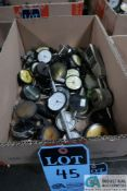(LOT) MISC. DIAL & DIGITAL READ-OUT GAGES