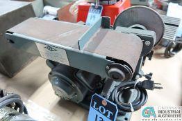 "4"" BELT / 6"" DISC. KBC MACHINERY MODEL BDS-460 ELECTRIC COMBINATION SANDER"