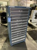 13-DRAWER TOOLING CABINET EMPTY EXCEPT FOR (1) DRAWER OF AIR MICS