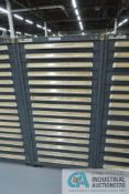 (LOT) 13-DRAWER VIDMAR CABINET WITH CONTENTS INCLUDING SOCKET HEAD CAP SCREWS (CABINET 9)