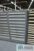 (LOT) 11-DRAWER LISTA CABINET WITH CONTENTS INCLUDING METRIC DOWEL PINS, TAPER PINS, SPRING PINS,