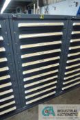 11-DRAWER VIDMAR CABINET WITH CONTENTS INCLUDING MISCELLANEOUS BASING DIE TOOLING, PINS, SPRINGS,