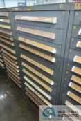 (LOT) 11-DRAWER VIDMAR CABINET WITH CONTENTS INCLUDING MISCELLANEOUS PUMP PARTS AND VALVES (