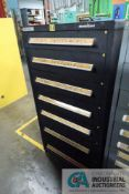 7-DRAWER VIDMAR CABINET WITH CONTENTS INCLUDING MISCELLANEOUS SIEMENS AND TEXAS INSTRUMENTS