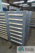 8-DRAWER VIDMAR CABINET WITH CONTENTS INCLUDING MISCELLANEOUS CHAIN LINKS (CABINET LE)